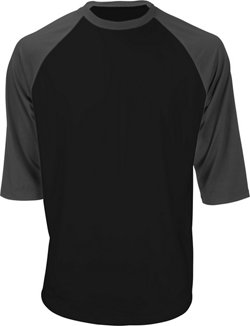Men's 3/4-Sleeve Baseball Shirt