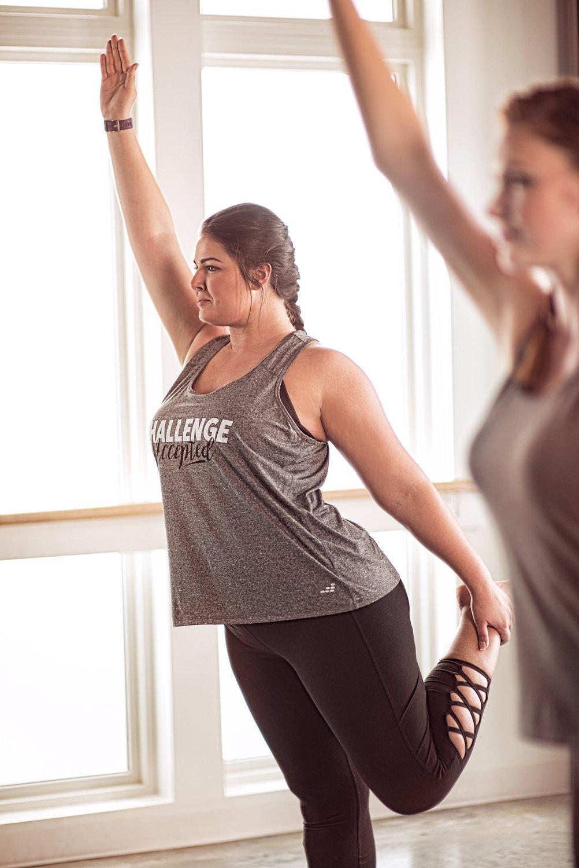 BCG Women's Tummy Control Lattice Plus Size 7/8 Legging - view number 9