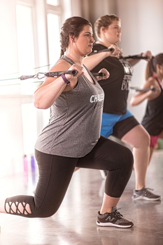 BCG Women's Tummy Control Lattice Plus Size 7/8 Legging - view number 3