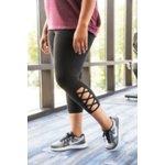 BCG Women's Tummy Control Lattice Plus Size 7/8 Legging - view number 11