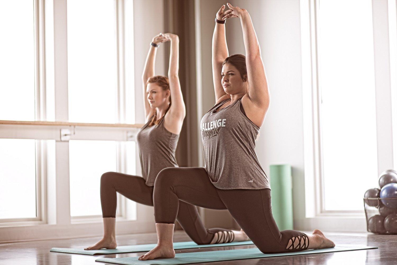 BCG Women's Tummy Control Lattice Plus Size 7/8 Legging - view number 10