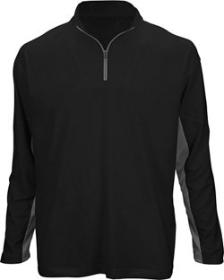 Boys' Long Sleeve 1/4 Zip Performance Top