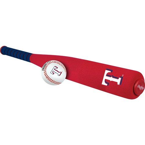 Rawlings Texas Rangers Softee Mini Bat and Ball Set