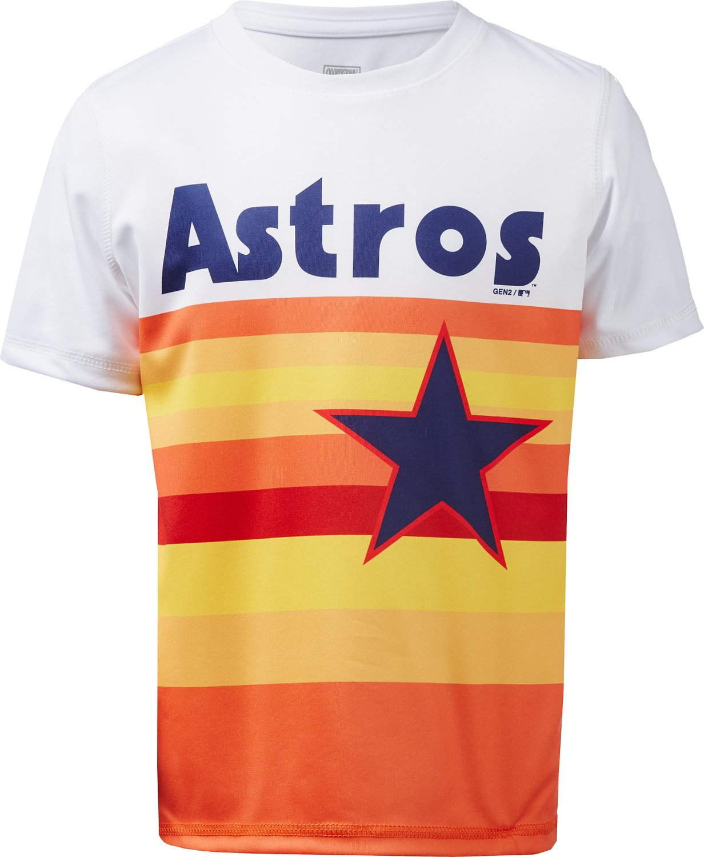 d98faf1de530e MLB Boys' Houston Astros Cooperstown Jersey T-shirt | Academy