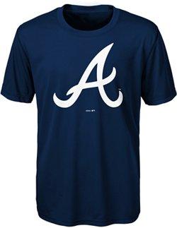 MLB Boys' Atlanta Braves Primary Logo T-shirt