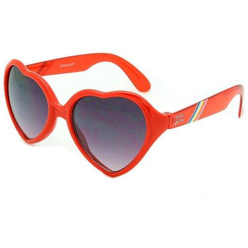 Hang Ten Girls' Heart Shaped Sunglasses