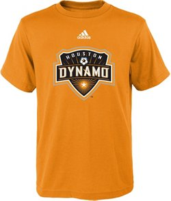adidas Boys' Houston Dynamo Primary Logo T-shirt