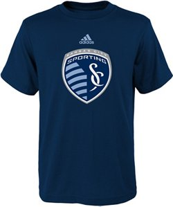 adidas Boys' Sporting Kansas City Primary Logo T-shirt