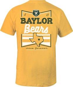 Image One Women's Baylor University Forever Script Flag T-shirt