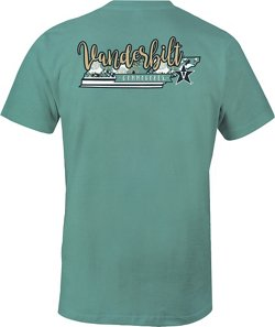 Image One Women's Vanderbilt University 2-Tone Patterned State T-shirt
