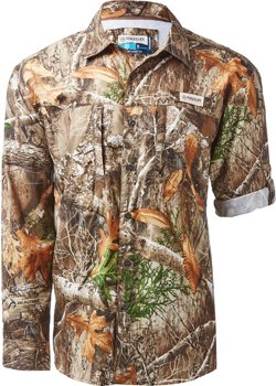 Magellan Outdoors Men's FishGear Falcon Bay Realtree Xtra Long Sleeve Shirt