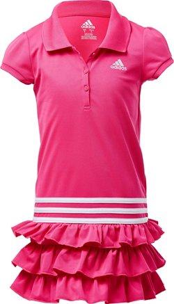 adidas Toddler Girls' Ruffle Polo Dress