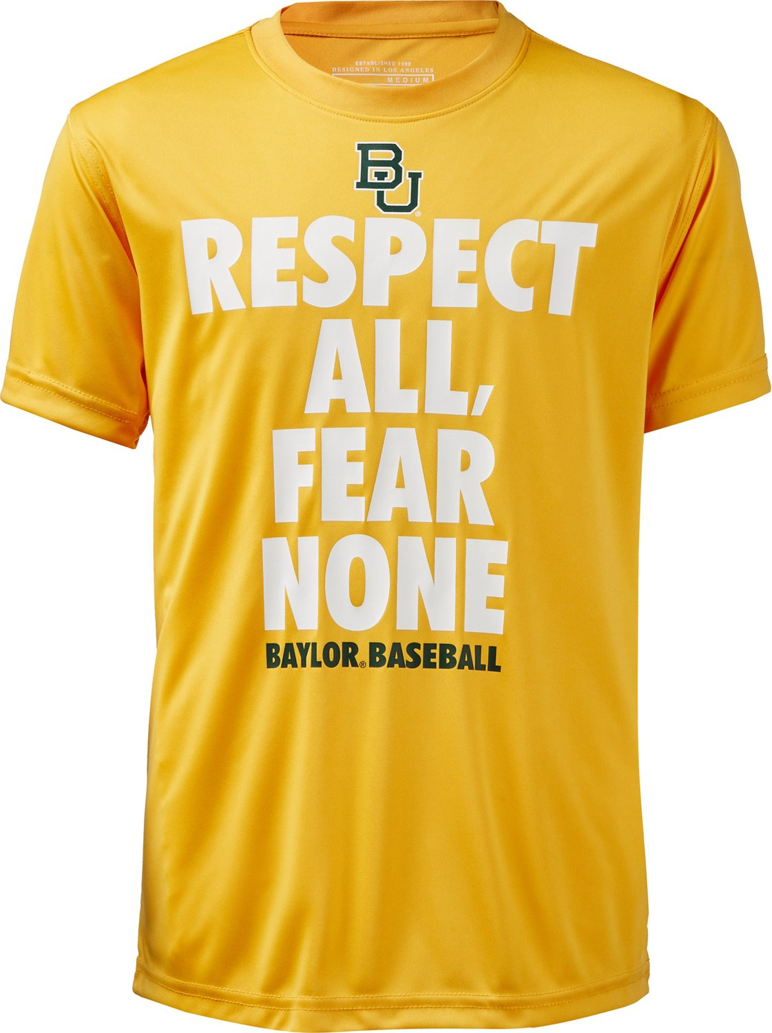 Colosseum Athletics Boys' Baylor University Now Baseball T-shirt