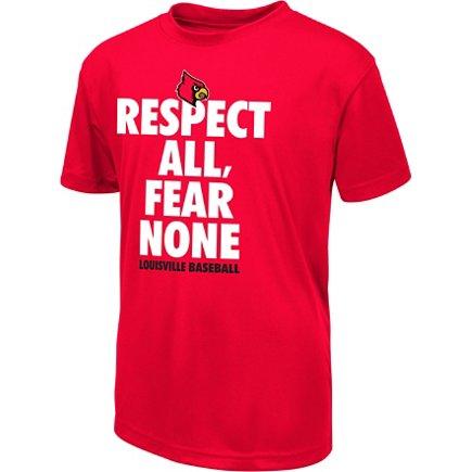 Colosseum Athletics Boys  University of Louisville Now Baseball T-shirt 15a0e92357e4