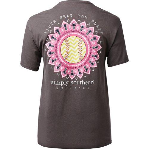 Simply Southern Women's Softball T-shirt