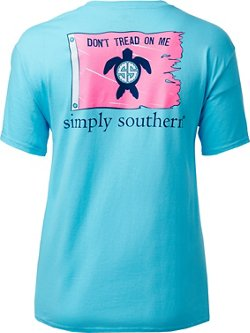 Simply Southern Women's Turtle Flag T-shirt