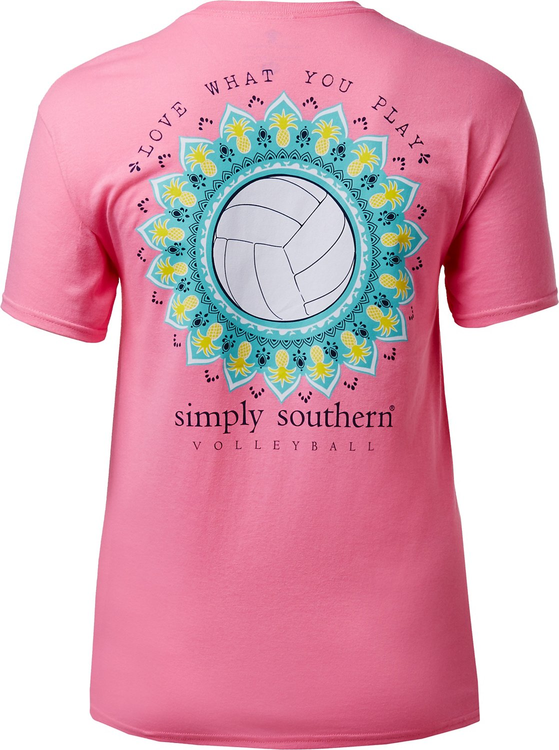 Simply Southern Women's Volleyball T-shirt - view number 2