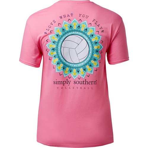 Simply Southern Women's Volleyball T-shirt