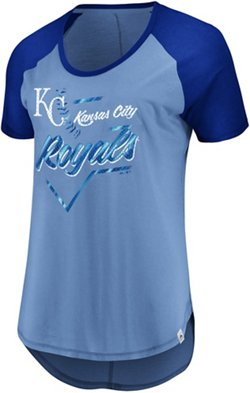 Majestic Women's Kansas City Royals Game Shake-Up Short Sleeve T-shirt