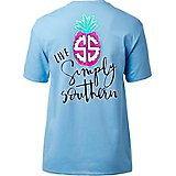 Simply Southern Women's Logo Pineapple T-shirt
