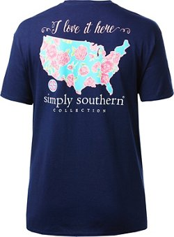 Simply Southern Women's USA T-shirt