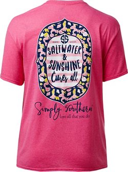 Simply Southern Women's Saltwater Cure T-shirt