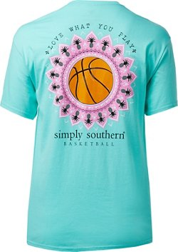 Simply Southern Women's Basketball T-shirt