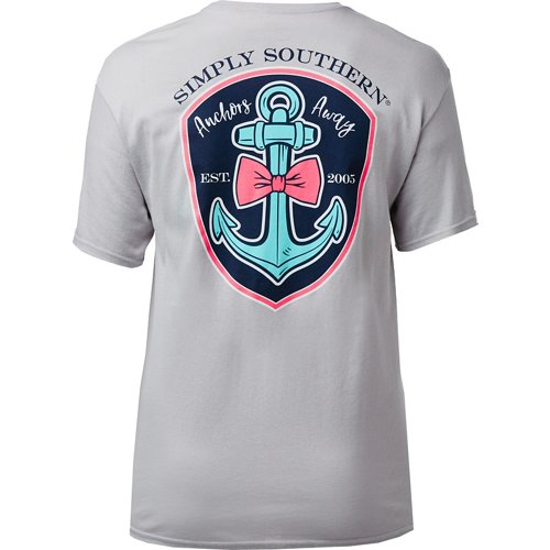 Simply Southern Women's Logo Anchor T-shirt