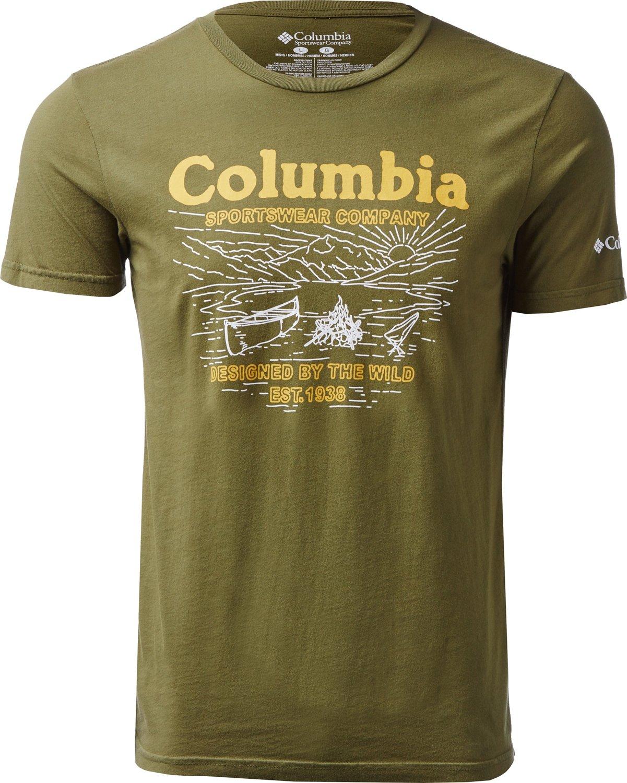 4f7a530a38e Columbia Sportswear Men s CSC Drumknott T-shirt
