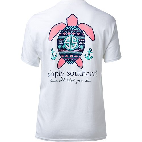 Simply Southern Women's Love Turtle T-shirt
