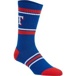 Men's Texas Rangers Crew Sock