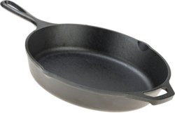 Lodge Wildlife Series Deer 10 in Cast-Iron Skillet