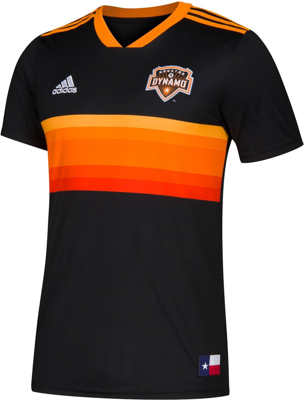 uk availability d6853 87f67 adidas Men's Houston Dynamo Replica Jersey