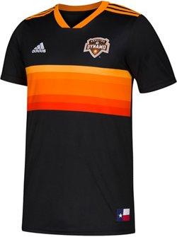 adidas Boys' Houston Dynamo Replica Jersey