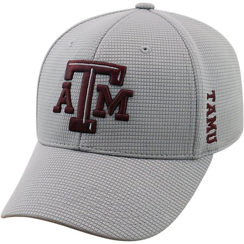 Top of the World Adults' Texas A&M University Booster Plus Cap