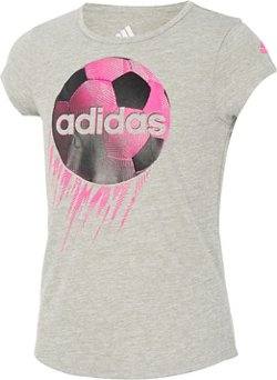 adidas Girls' climalite Rocket Ball T-shirt