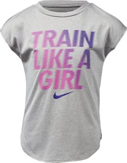 Nike Toddler Girls' Train Like a Girl Dri-FIT T-shirt