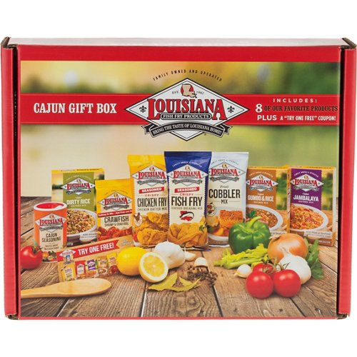 Louisiana Fish Fry Products 22 oz Cajun Gift Box
