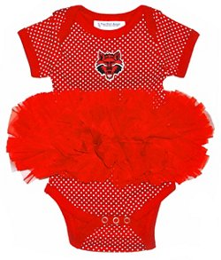 Two Feet Ahead Infants Girls' Arkansas State University Tutu Creeper