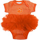 Two Feet Ahead Infants Girls' Clemson University Tutu Creeper