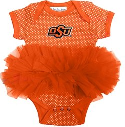 Two Feet Ahead Infants Girls' Oklahoma State University Tutu Creeper