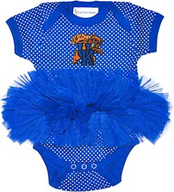 Two Feet Ahead Infant Girls' University of Kentucky Pin Dot Tutu Creeper