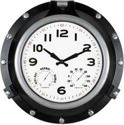 Poolmaster 18 in Porthole Clock