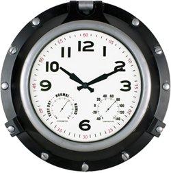 18 in Porthole Clock