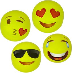 Poolmaster 16 in Expressions Play Balls 4-Pack