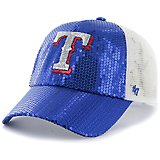 4311eb5bd9e Texas Rangers Women s Dazzle Mesh Clean Up Cap