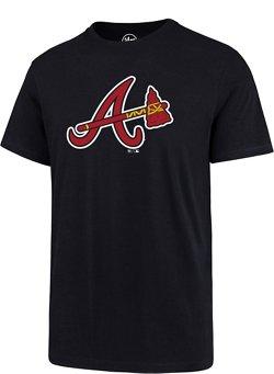 '47 Men's Atlanta Braves Super Rival Short Sleeve T-Shirt