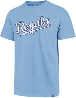 '47 Men's Kansas City Royals Wordmark Club Short Sleeve T-Shirt