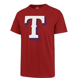 '47 Men's Texas Rangers Imprint Super Rival Short Sleeve T-Shirt