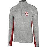 '47 Men's St. Louis Cardinals Forward Evolve 1/4 Zip Jacket